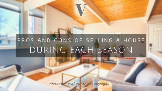 selling a house during each season