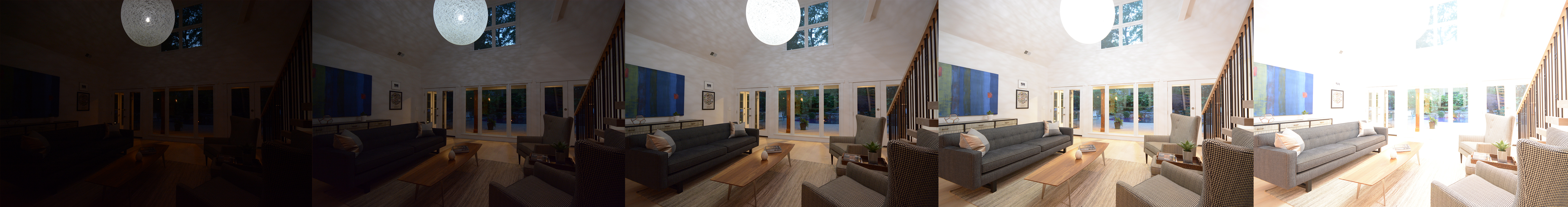 Real estate photography without flash using photo bracketing by virtuance