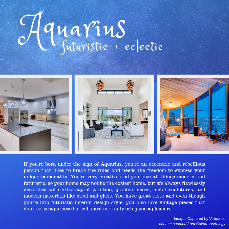 what is your design style - horoscope - virtuance- aquarius
