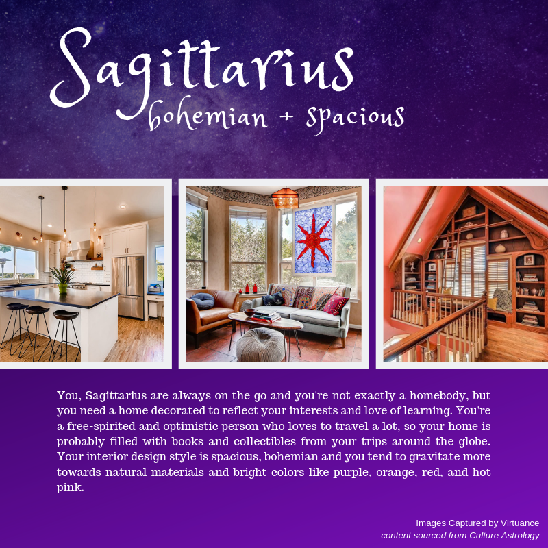 what is your design style - horoscope - virtuance- sagittarius